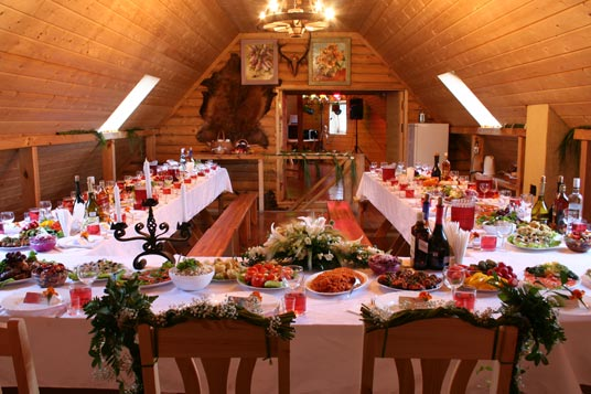 Banquet hall (up to 60 guests)